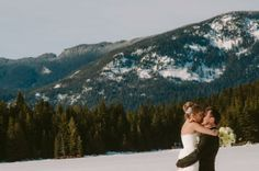 Winter wedding! Love it