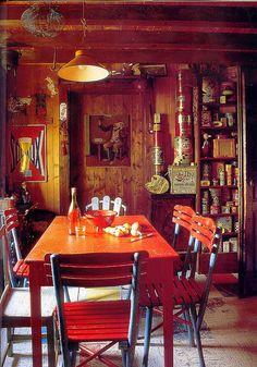 Lovely jumbly kitchen