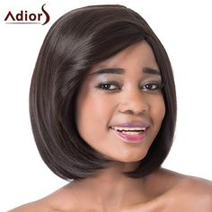 Stunning Short Straight Bob Style Side Bang Synthetic Adiors Wig For Women #>=#>=#>=#>=#> Click on the pin to check out discount price, color, size, shipping, etc. Save and like it!