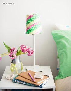 washi tape shade #decor #DIY #washitape