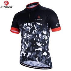 X-TIGER 2018 Summer Cycling Jersey Mountain Bike Sportswear Bicycle Clothes  Hombre Maillot Mens Cycling Clothing Ropa Ciclismo 86fc0fdc2