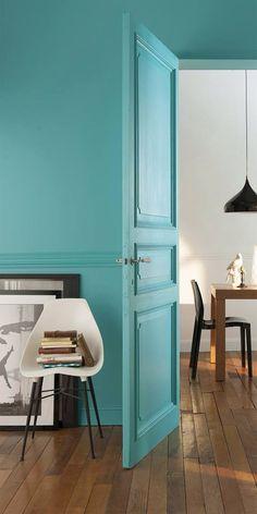 porte leroy merlin vue chez des potes une fois repeinte avec une jolie poign e ovale en. Black Bedroom Furniture Sets. Home Design Ideas