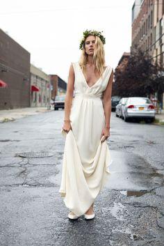 Savannah Miller y la firma Stone Fox Bride se han propuesto vestir a las novias contemporáneas la próxima temporada.
