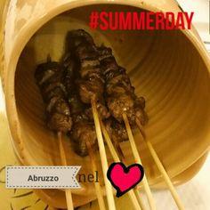 #summerday arrosticini!