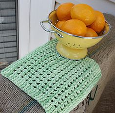 Ravelry: Lacy Knit Dishcloth pattern by Dishcloth Boutique