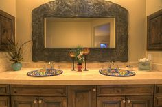 southwest bathroom mirror and medicine cabinets