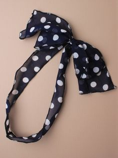 polka dot spotty hair band