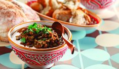Moroccan Lentils & Table Bread by Chef Michael Smith Chef Michael Smith, Morrocan Food, Moroccan Kitchen, Lentil Dishes, Lentil Stew, Best Lentil Recipes, Vegetarian Recipes, Vegetarian Cooking, Healthy Recipes On A Budget