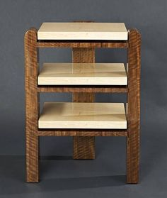 wood audiophile shelves design - Google Search