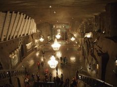 St. Kinga chapel in Poland. The most beautiful underground church in the world – 101 meters deep, in Wieliczka Salt Mine (UNESCO)