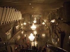 St. Kinga chapel in Poland. The most beautiful underground church in the world – 101 meters deep, in Wieliczka Salt Mine (UNESCO)