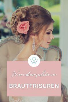 Ihr habt Euer Traumkleid gefunden ? Fantastisch, dann müsst Ihr Euch jetzt nur noch Gedanken um die passende Brautfrisur machen. Ob Offen, Halboffen oder zum Dutt zusammengebunden - Ihr habt viele Möglichkeiten wie Ihr Eure Haare an der Hochzeit tragen möchtet. #WeddyPlace #Brautfrisur #Hochzeitsplanung #Bridehair #Frisuren Fashion, Amazing, Nice Asses, Thoughts, Moda, Fashion Styles, Fashion Illustrations