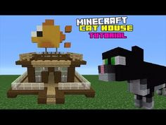 Minecraft Tutorial: How To Make A Cat House - YouTube