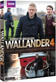 Kenneth Branagh returns as Detective Kurt Wallander for  three final thrilling stories, filmed in South Africa,  Sweden and Denmark. In The White Lioness Wallander  is drawn into the case of a missing Swedish national while  attending a police conference  in South Africa. It is the start of an emotional journey  that leads him from the aching beauty of rural Africa to the  intense poverty of its urban townships. The second film sees  Wallander back in Sweden where a woman's body ...