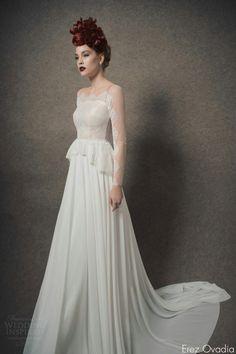 Beautiful Erez Ovadia Wedding Dresses u Blossom Bridal Collection Wedding Inspirasi Abigail