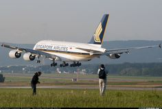 Airbus A380-841, Singapore Airlines