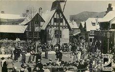 Century of Progress, RPPC, Black Forest Village, Chicago's Worlds Fair, 1934