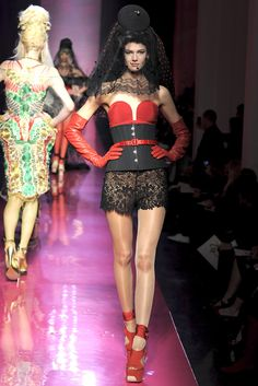 Jean Paul Gaultier Spring 2012 Couture Collection Slideshow on Style.com