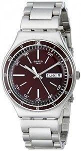 Swatch Herren-Armbanduhr Analog Edelstahl YGS752G