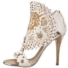 Giuseppe Zanotti Women's E00095 Sandal: Shoes - Polyvore