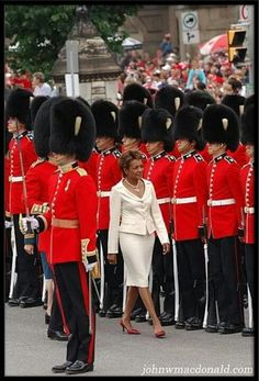 The Honorable Michaëlle Jean, Haitian Canadian. The Governor General of Canada, who served in office September October Women In History, Black History, Black People, We The People, Black Canadians, Haitian Art, Canadian History, People Of Interest, African American Women