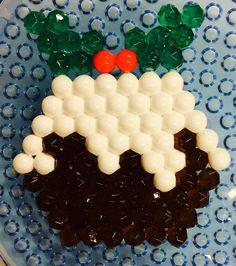 Delicious! #Christmas #pudding #aquabeads #art #craft