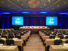Hotel Crowne Plaza Barcelona Meeting room -Event in classrom set up-