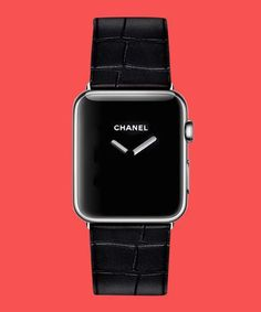 Dream Apple Watch Fashion Collaborations | The Chanel Boy.Friend with a digital face? The blogger-favorite Daniel Wellington with capabilities? No timepiece dream is too big. #refinery29 http://www.refinery29.com/2015/09/93747/dream-apple-watch-fashion-collaborations