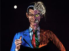 This artist paints on her body to transform herself into trippy 2D comic superheroes #Latest Tech Trends Tech Insider