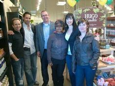 With Tau team at Pointe-Claire
