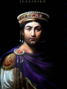 Justinian, Emperor of the Eastern Roman Empire.