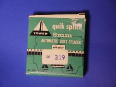VTG 8mm quik Automatic Butt Splicer by Sears Roebuck & Co and Simpson Sears #Tower