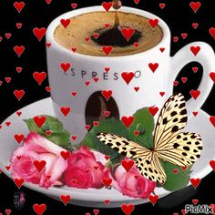 See the PicMix Good morning! Good Morning Gift, Good Morning Coffee Gif, Good Morning Flowers Gif, Good Morning Kisses, Good Morning Beautiful Images, Good Morning Funny, Good Morning Greetings, Good Morning Quotes, Beau Gif