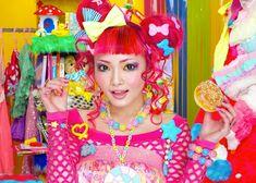 Yuka Japan's Harajuku rainbow hair colours