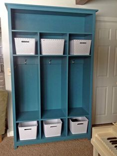 Ana White | Storage locker unit - DIY Projects