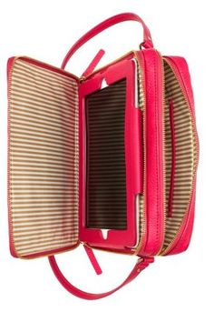 NEW Kate Spade bag! Back compartment has built in ipad case, front compartment holds essentials. love! #wishlist