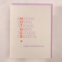 Amazing Mothers Day
