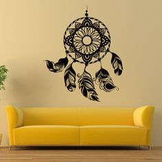 Dreamcatcher Wall Decals Catcher Feather Vinyl von WisdomDecals