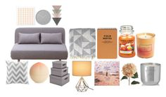 """""""Bez tytułu #134"""" by keluna ❤ liked on Polyvore featuring interior, interiors, interior design, home, home decor, interior decorating, Jo Malone, Yankee Candle, Pier 1 Imports and Tony Moly"""