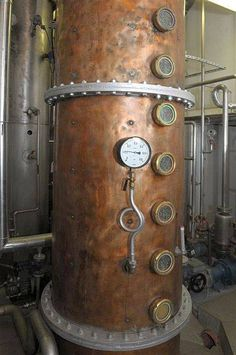 Copper Distilling Column