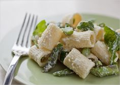Pasta With Asparagus, Arugula and Ricotta Recipe - NYT Cooking