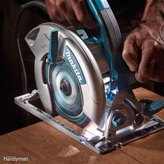 If you're young and can still see well in dim light, you may not care about this feature. But we liked the work lights on the Craftsman, Makita and Kobalt saws. The LED lights illuminated the cutting area enough to allow us to follow the line easily even in dim light.