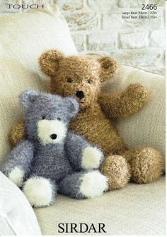 Sirdar Touch teddies 2466