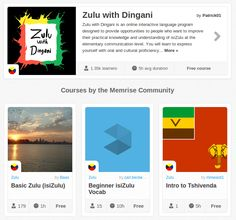 Memrise Merges Science, Fun and Community to Help Learn Zulu Online for Free (+ App) Science Fun, Programming Languages, Zulu, Free Apps, Communication, Community, Magazine, Learning, Funny Science