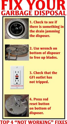 how to fix a garbage disposal that only hums