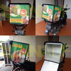 Tas delivery makanan bebek bahama. untuk konsultasi dan pemesanan lebih lanjut hubungi 081333664050