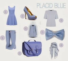 Undergraduate Style: How to wear Placid Blue in Spring 2014