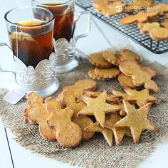 Gingerbread Cookies (Coconut flour base and on-hand ingredients.)