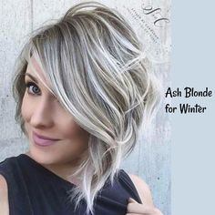 Short ash blonde hair for winter ↠ @tamielisabeth [fσℓℓσω тσ ѕєє мσяє] ♡