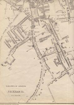 London Map, Denmark, Maps, Victorian, Antiques, Ebay, Antiquities, Map, Peta
